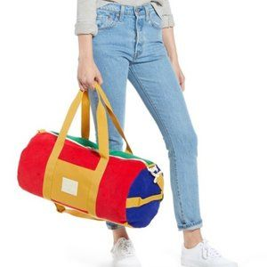 Herschel Supply Co. Sutton Colorblock Duffle Red